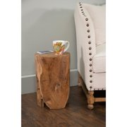 Decorative Helix Rustic Tan Specialty Accent Table