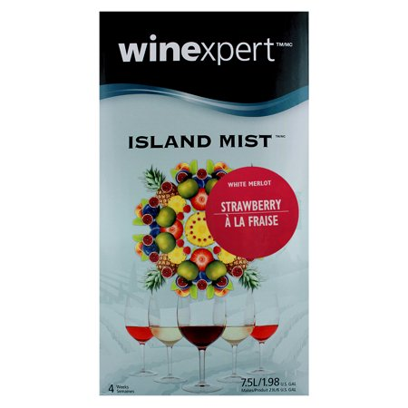 Strawberry White Merlot (Island Mist)