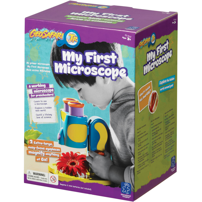 Educational Insights Geosafari Jr My First Microscope Walmart