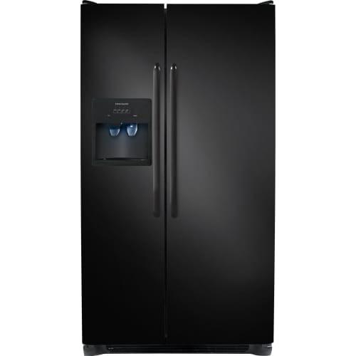 Frigidaire FFSS2614Q 36 Inch Wide 25.6 Cu. Ft. Side By Side Refrigerator with
