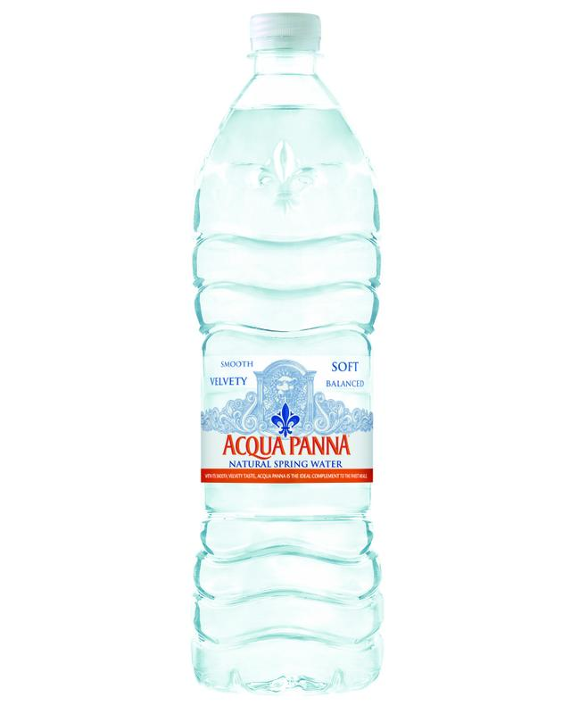 Acqua Panna Natural Spring Water, 33.8 Fl Oz, 12 Count by Nestle Waters