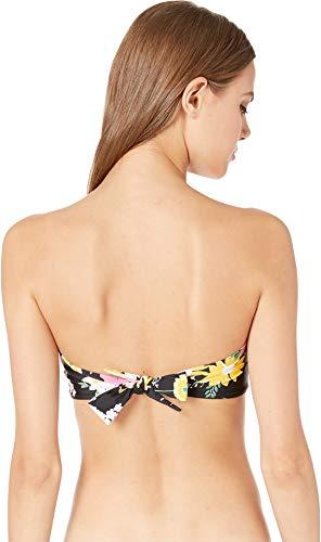 Hobie Womens Bandeau Hipster Bikini Swimsuit Top