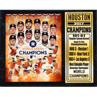 12x15 Stat Plaque - 2017 World Series Champion Houston Astros