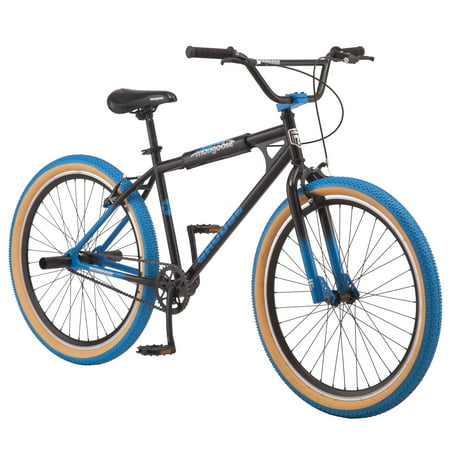 Mongoose Grudge BMX Freestyle bike, single speed, 26 inch wheels, mens, black