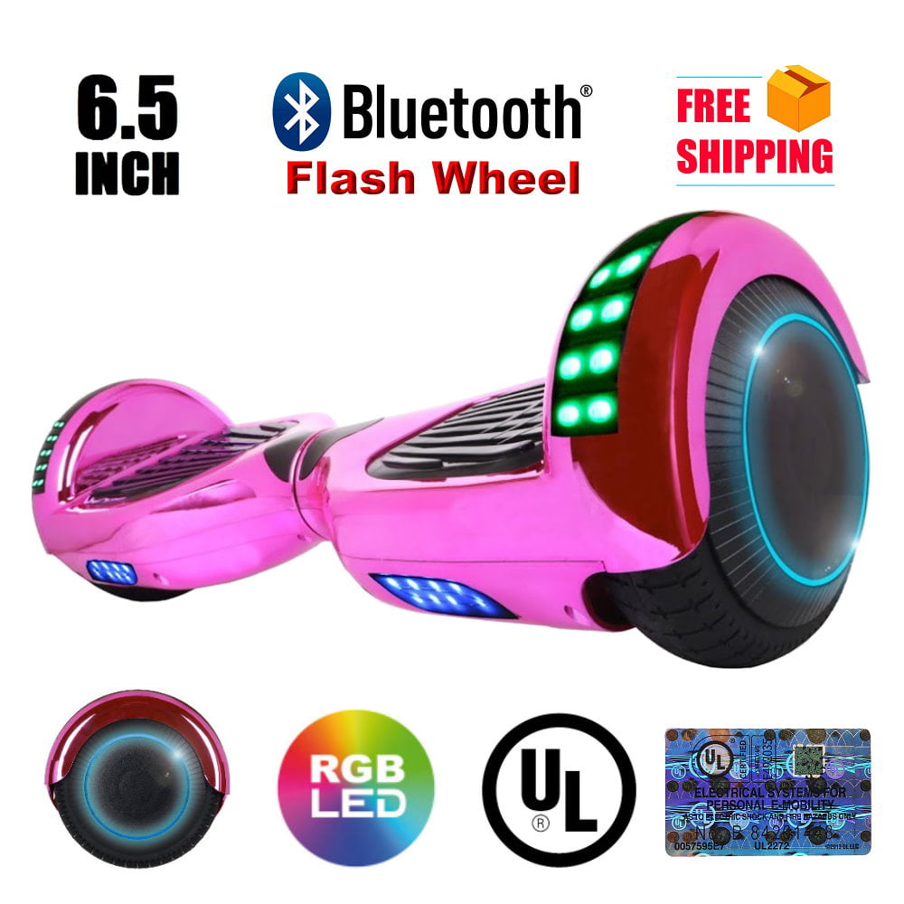 "UL2272 Certified Bluetooth TOP LED 6.5"" Hoverboard Two Wheel Self Balancing Scooter... by"
