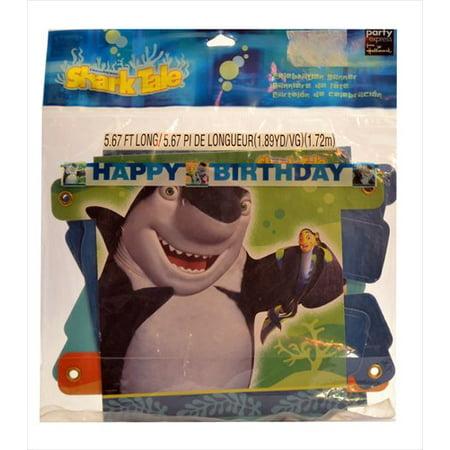 Shark Tale Happy Birthday - Happy Birthday Shark
