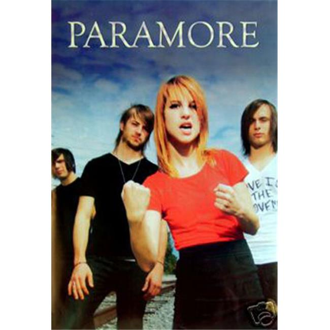 Hot Stuff Enterprise 9023-24x36-MU Paramore Group Shot Poster