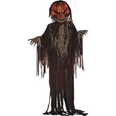 Scary Pumpkin Prop Halloween Decor