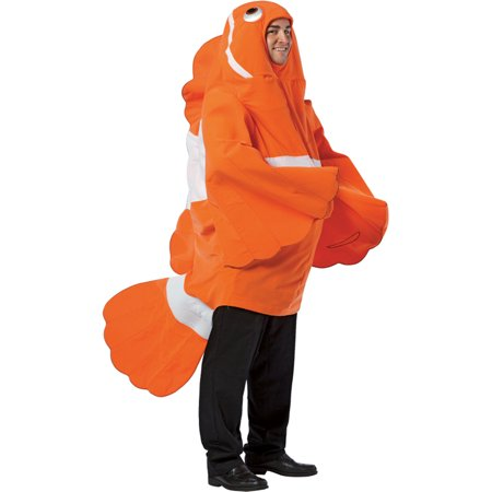 Morris Costumes Clownfish Adult Costume, Style, GC6490