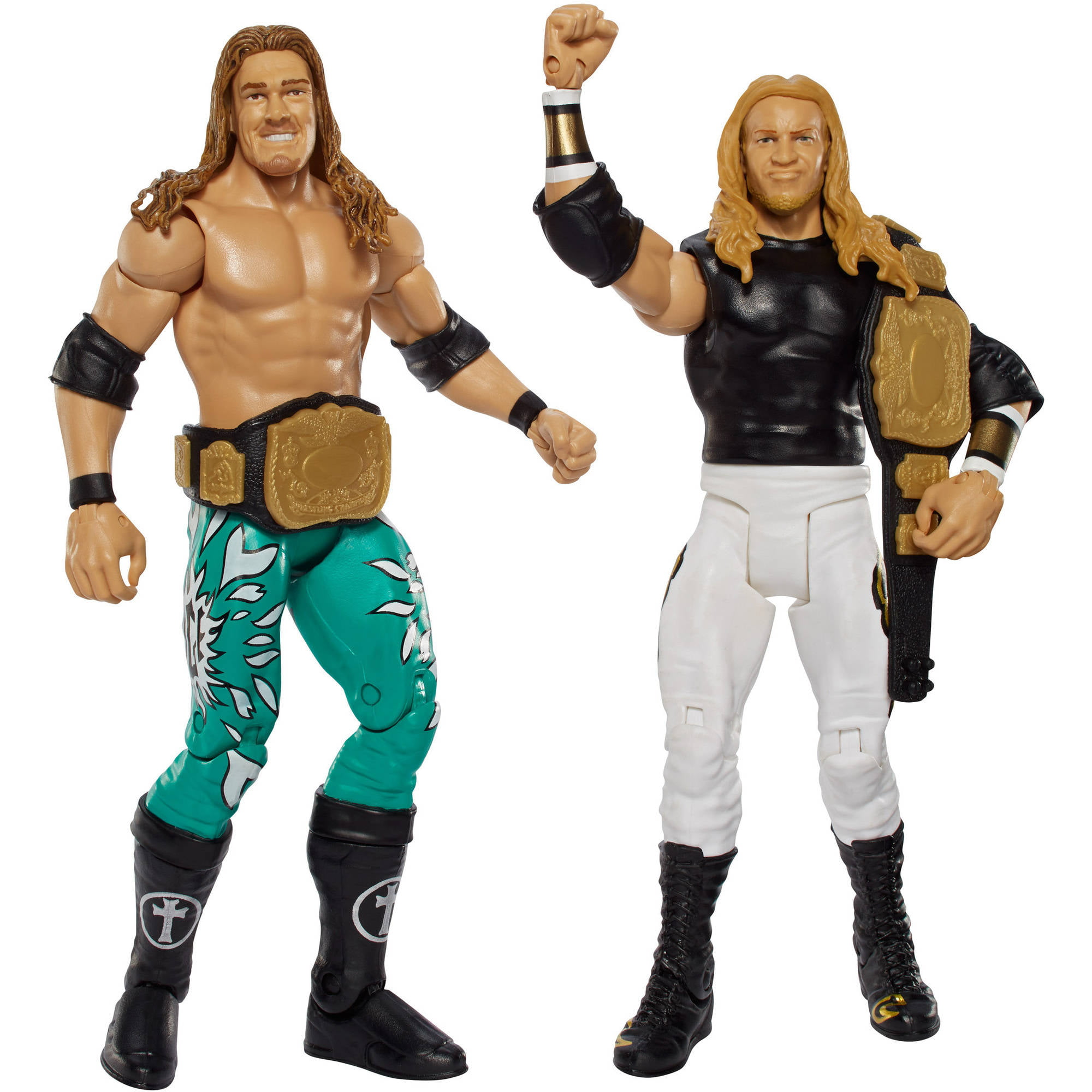 WWE Battle Pack Edge and Christian Figure, 2-Pack by Mattel