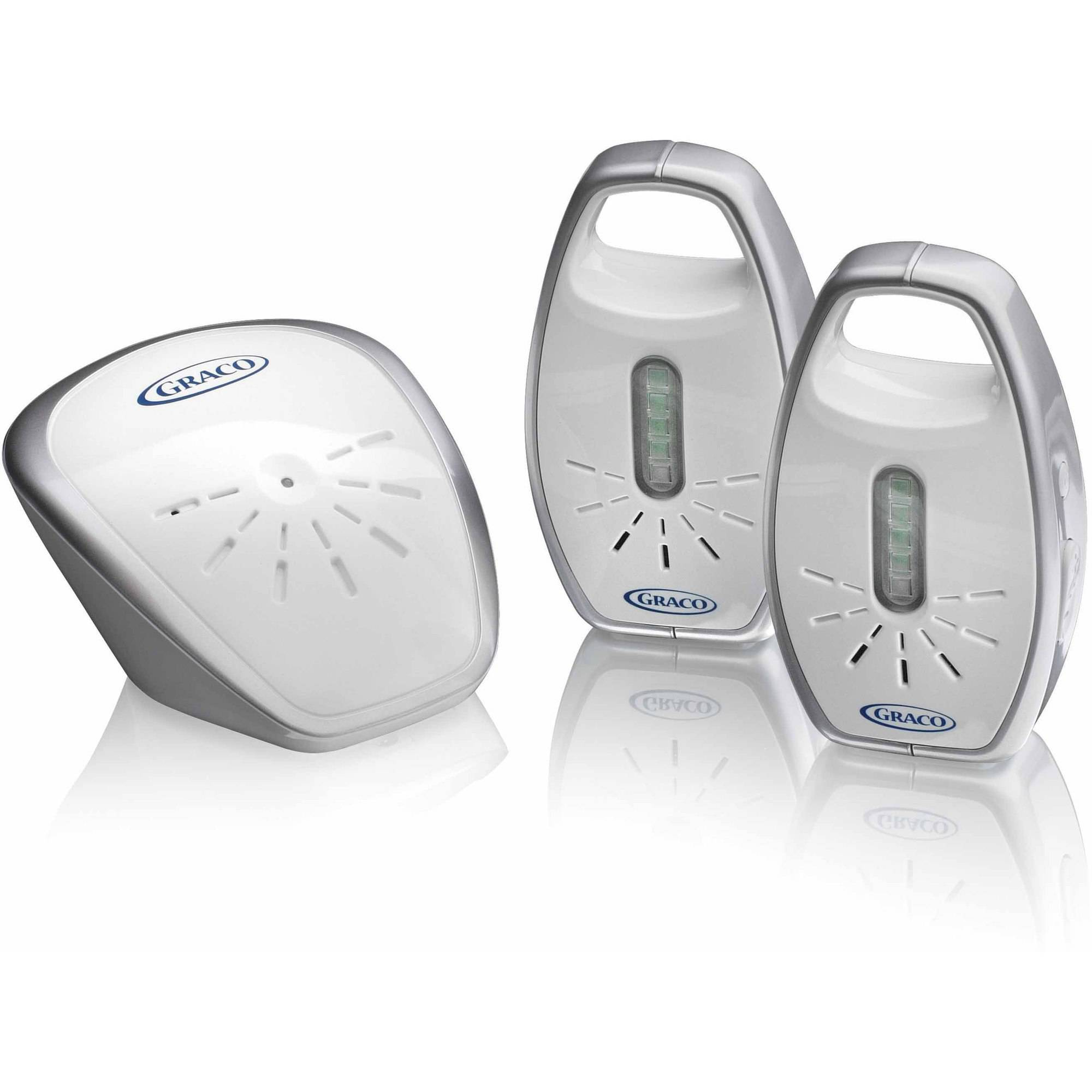 Graco Secure Coverage Digital Audio Baby Monitor, 2 Parent Units