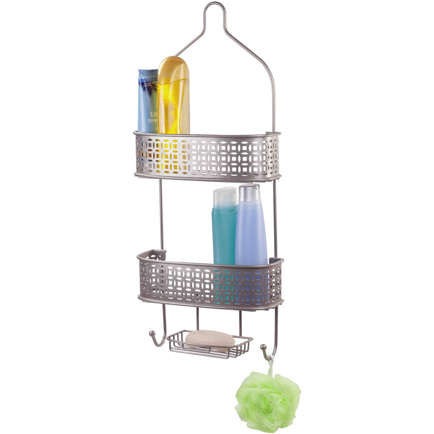 Home Basics Satin Nickel Shower Caddy by Generic