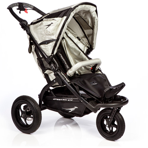 Trends for Kids Joggster x 2 Twist Jogging Stroller, Pebble