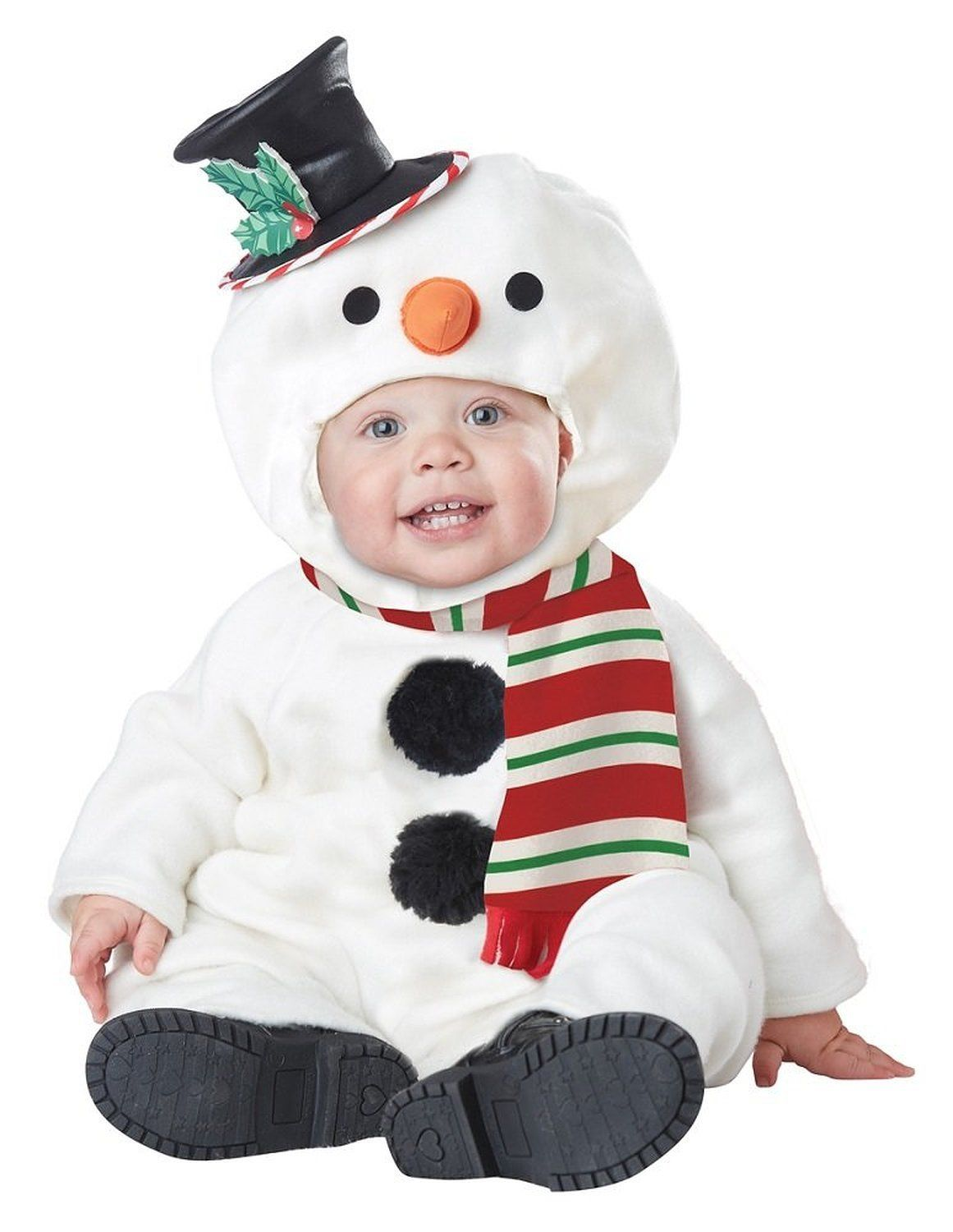 Lil\' Snowman Baby Christmas Costume Infant Toddler 12-18m or 18-24m ...