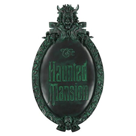 Disney Wall Plaque - disney parks the haunted mansion wall sign plaque sign marquee replica new