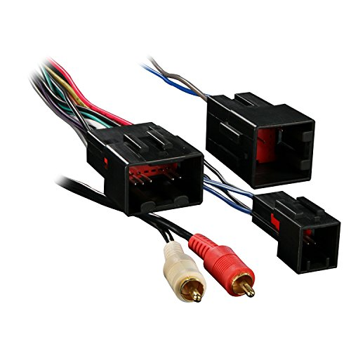 Metra 70-5701 Wiring Harness for Select Ford Vehicles with Premium Sound and RCA