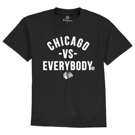 Chicago Blackhawks Shorts (Chicago Blackhawks Youth Team vs. Everybody T-Shirt -)