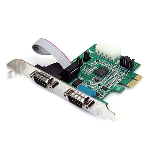 StarTech.com PEX2S952 2 Port PCI Express Serial Adapter Card