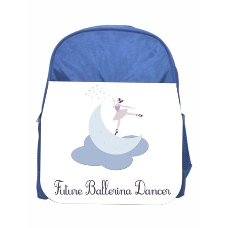 Ballerina Blue Girls / Boys Preschool Toddler Backpack & Lunch Box Set (Boys Backpack And Lunchbox)