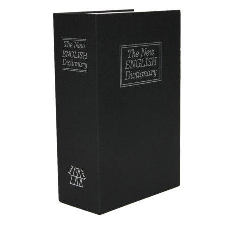 Secret Safe - Zimtown Dictionary Hidden Secret Book Safety Money Box Security Code with Lock Black/Blue