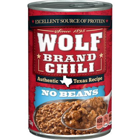 Wolf Brand Chili Without Beans  40 Ounce
