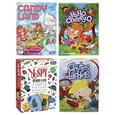 Childcraft Classic Preschool Games, Set of 4 (Preschool Classroom Games)