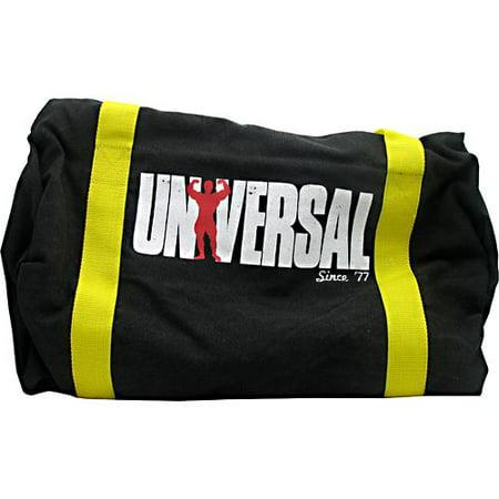 Universal Nutrition Vintage Gym Bag Black Yellow