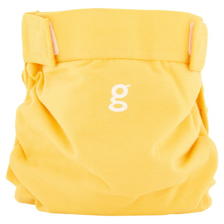 gDiapers Large Sunshine Yellow Reusable Diaper Cover, 22-36 lbs ()