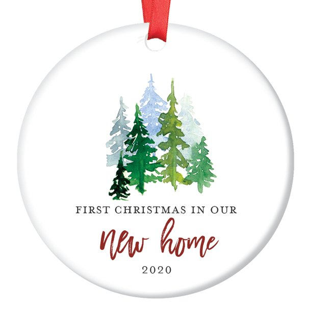 Christmas Ornament 2020 New House New Home Christmas Ornament 2020, First Year In Our New House