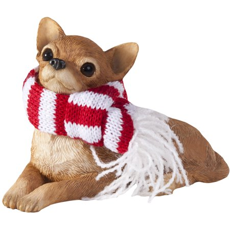 Sandicast Lying Tan Chihuahua with Scarf Christmas Dog Ornament -  Walmart.com - Sandicast Lying Tan Chihuahua With Scarf Christmas Dog Ornament