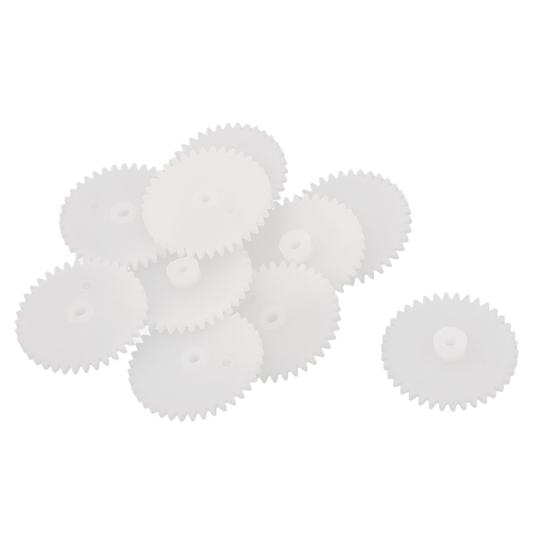 10Pcs 38 Teeth 0.5 Modulus Plastic Single Reduction Motor Gear for RC Airplane by