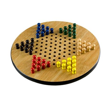 Sunnywood 4279 11'' Wooden Chinese Checkers - image 1 de 1