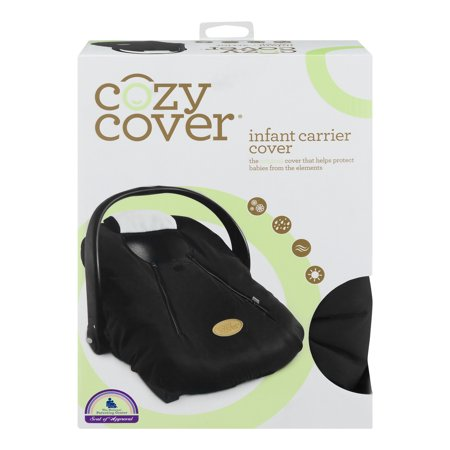 cozy cover infant carrier cover black 10 ct - Carrier Cover