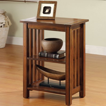 Furniture of America Valentin' Mission Antique Oak End Table by FOA ()