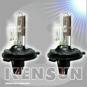 Kensun UN-K-55W Bulbs-H4 LH-12K HID Xenon Lo-Hi Halogen 12000K 55W AC Bulbs, Blue