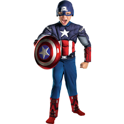 Captain America (The Avengers) Classic Muscle Child Halloween Costume