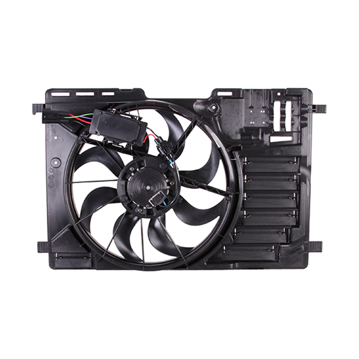 CPP Engine Cooling Fan Assembly FO3115200 for 14-17 Ford Transit Connect