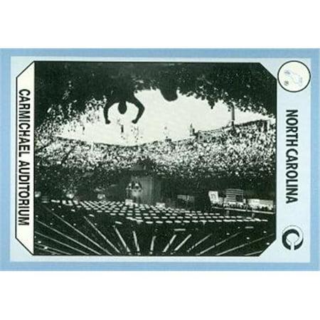 Tar Heels Carmichael Auditorium  Basketball Card (North Carolina) 1990 Collegiate Collection No.195