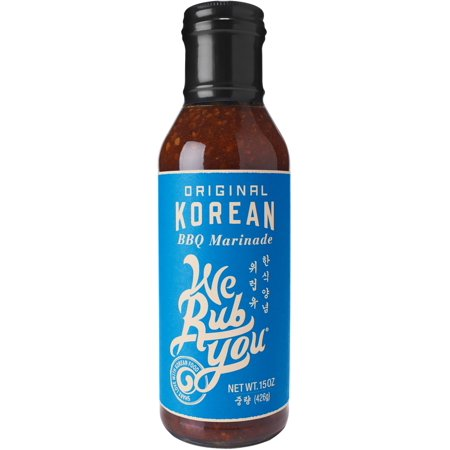 We Rub You Korean Marinade & Sauce , 15 OZ