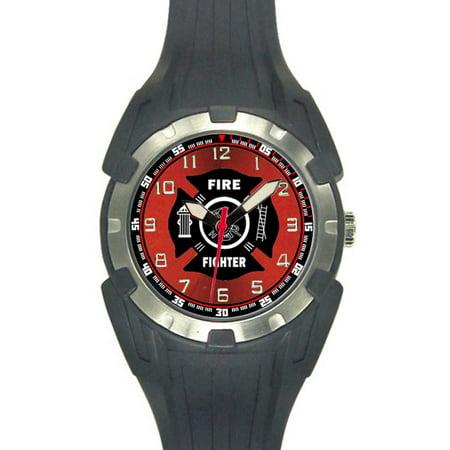 Fire Rubber Sport Watch