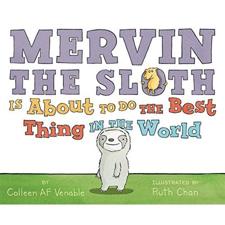 Mervin the Sloth Is About to Do the Best Thing in the World - image 1 of 1