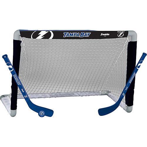 Franklin Sports NHL Tampa Bay Lightning Mini Hockey Set