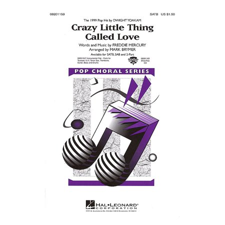 Hal Leonard Crazy Little Thing Called Love Combo Parts by Dwight Yoakam Arranged by Mark Brymer