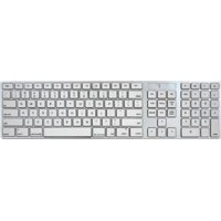 Full Size Mac Keyboard - Apple IOS Mac iMac Windows Desktop PC Laptop - Wired, Executive Apple Design Brushed-Aluminum Finish that Perfectly.., By iHome