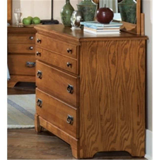 Carolina Furniture 385300 Creek Side Single Dresser In Autumn Oak