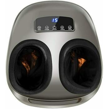 Gymax Foot Massager Shiatsu Deep Kneading Air Compression