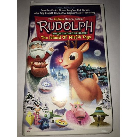 Rudolph The Red-Nosed Reindeer &The Island of Misfit Toys VHS