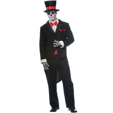 Day Of The Dead Groom Adult - Day Of The Dead Groom Costume