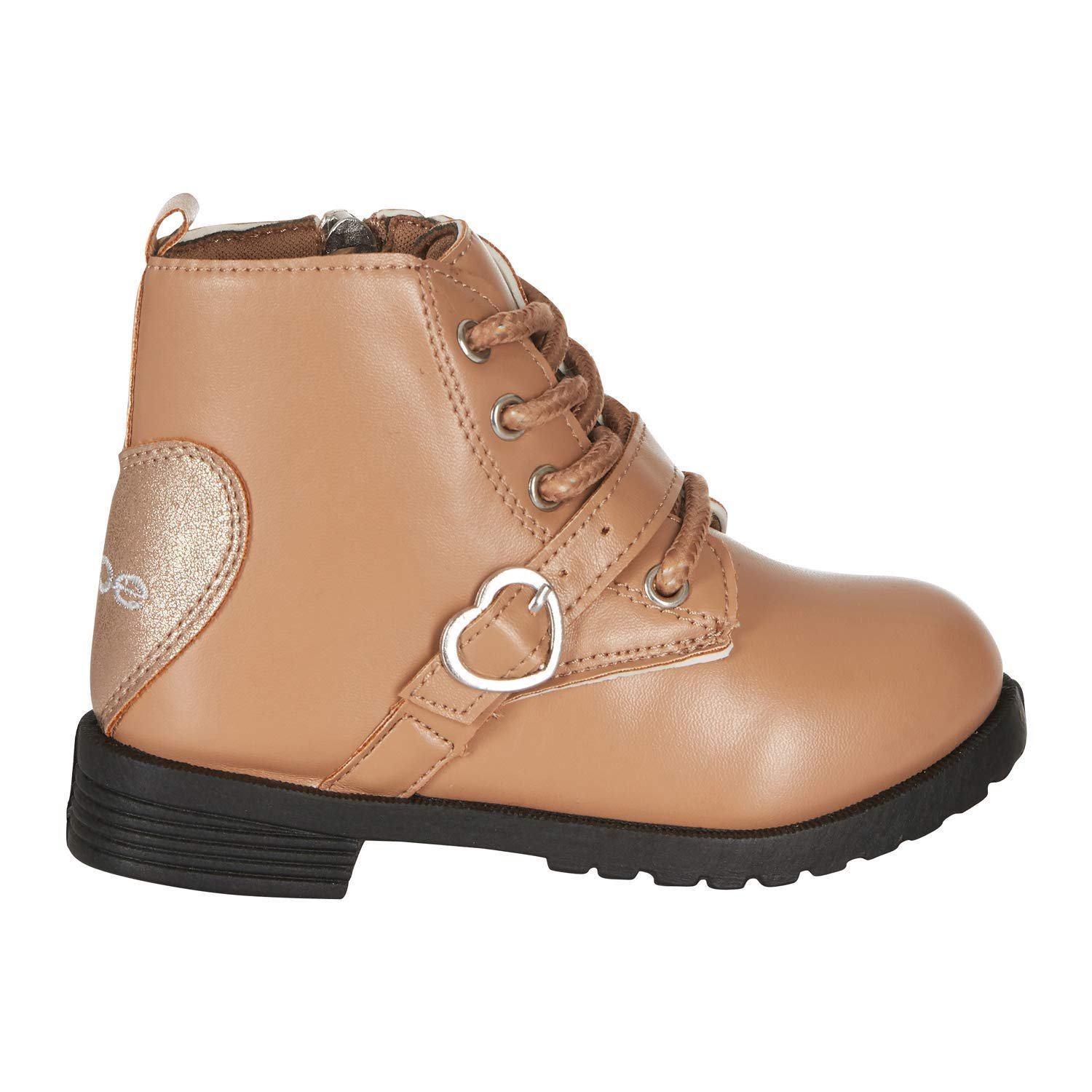 bebe Toddler Girls Lace up Combat Boots
