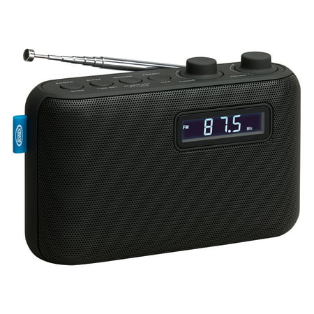 JENSEN SR-50 Portable AM/FM Digital Radio & Alarm